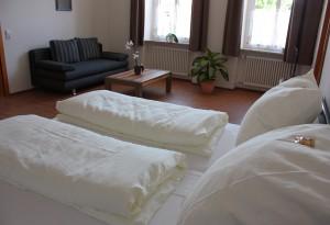 Ferienwohnung EG Deluxe: Schlafzimmer 2