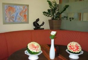 Wassermelonen | Obst- & Gemüseschnitzereien im Thai Tawan - Thailändisches Restaurant im Breisgau b. Europa-Park Rust