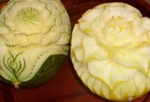 Melonen | Obst- & Gemüseschnitzereien im Thai Tawan - Thailändisches Restaurant im Breisgau b. Europa-Park Rust